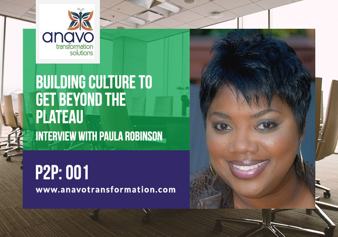 Building Culture to Get Beyond the Plateau: Interview with Paula Robinson – P2P:001