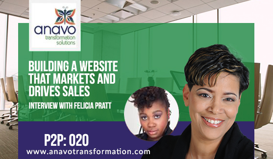 Building A Website That Markets & Drives Sales – Interview with Felicia Pratt P2P: 020